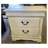 2 DRAWER NIGHT STAND PAINTED