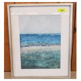 SIGNED ABSTRACT PRINT