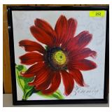 PRINT ON CANVAS FLORAL