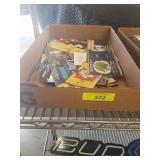 BOX LOT OF VINTAGE LABLES