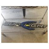 BUD LIGHT LIGHTED SIGN. NEEDS POWER CORD