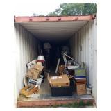 CONTENTS OF CONTAINER, BUYER REMOVE ALL