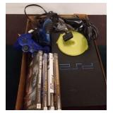 PS2 CONSOLE, GAMES, CONTROLLERS, MISC