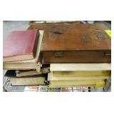 GROUP- BIBLE STORAGE BOX AND BIBLES