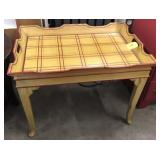 TRAY STYLE END TABLE