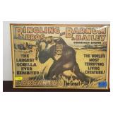 VINTAGE BARNUM AND BAILEY POSTER