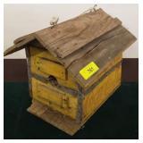 HOMEMADE BIRD HOUSE COKE CRATES