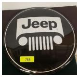 JEEP 4X4 METAL BUTTON SIGN