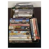 TRAY OF ASSORTED DVDS
