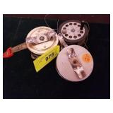 GROUP OF 3 FLY REELS