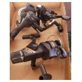 GROUP OF 3 SPINNING REELS