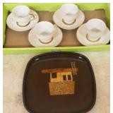 COLLECTIBLE COUROC TRAY,