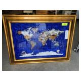 MINERAL MAP IN FRAME