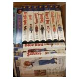 SHIRLEY TEMPLE VHS TAPES