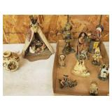 GROUP ASSORTED NATIVE AMERICAN COLLECTIBLES