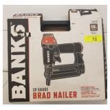 BANKS 18GA BRAD NAILER