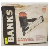 BANKS 30-34DEGREE FRAMING NAILER
