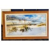 SEAOAT SUNSET SIGNED WITH COA ON REAR
