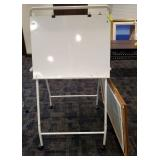 DRY ERASE EASEL AND ACCESSORIES