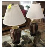 PAIR OF MATCHING LAMPS