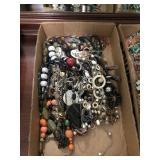 TRAY OF COSTUME JEWELRY