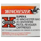 WINCHESTER 45 WIN MAG 230 GR FMC 20 RDS