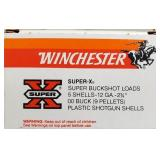 WINCHESTER 12GA SUPER 00 BUCKSHOT 5 RDS