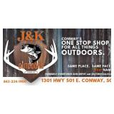 AUCTION SPONSORED BY J&K OUTDOORS