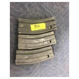 3 AR-15 STEEL HIGH CAPACITY MAGAZINES 223/5.56