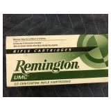 REMINGTON 223 55GR, MC, 20 ROUNDS