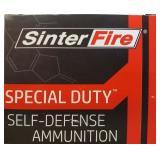SINTER FIRE .380 AUTO 75 GR SPECIAL DUTY HP 20 RDS