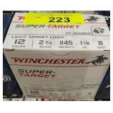 """WINCHESTER 12GA 2 3/4"""" 8 SHOT 25 RDS"""