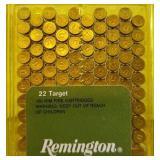 REMINGTON 22 TARGET 40 GR 100 RDS