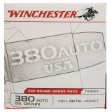 WINCHESTER 380 AUTO 95 GR 200 RDS