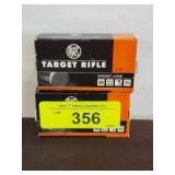 RWS 22 LR 40 GR 2 BOXES - 100 RDS