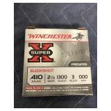 "WINCHESTER .410 000 BUCKSHOT 2.5"" 3 PEL"