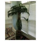 PALM TREE IN IRON PLANTER