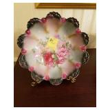 FLORAL HAND PAINTED BOWL