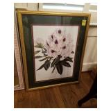 RHODODENDRON DOUBLE MATTED PRINT