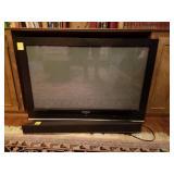 SAMSUNG FLAT SCREEN TV WITH SOUND BAR
