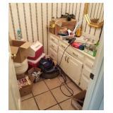 CONTENTS BATHROOM MISCELANEOUS SMALL TOOLS,