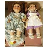 """MIDDLETON DOLL """"BETH"""" AND HER WIDDLE WOOKIN RABBIT"""