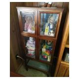 DOLL DISPLAY CASE, **CABINET ONLY