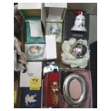 TRAY LOT OF HOLIDAY GIFTS, REED & BARTON PEWTER,