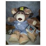 FURSKINS  TEDDY BEAR