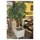 Silk Ficus Topiary