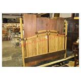 King Size Bamboo Headboard