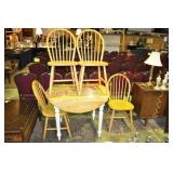 5) Piece Country Hardwood Dinette