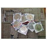 235) Chinese Replica Silver Coins x $
