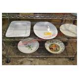 Italian Ceramic Platters Trays Bowls